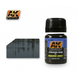 AK069 Streaking Grime for PANZER GREY (enamel color)