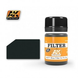 AK 071 FILTER Blue Filter for Pz.Grey
