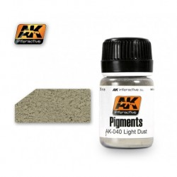 AK040 Pigments Light Dust