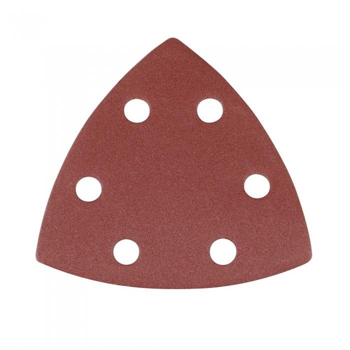 10x feuille abrasive triangulaire auto-agrippante 90mm grain 240 pour Delta 261345