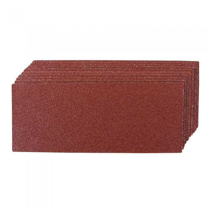 10x feuille abrasive 93x230 grain 60