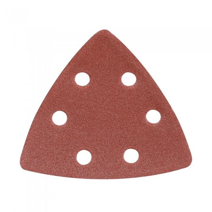 10x feuille abrasive triangulaire auto-agrippante 90mm grain 120 pour Delta 261345