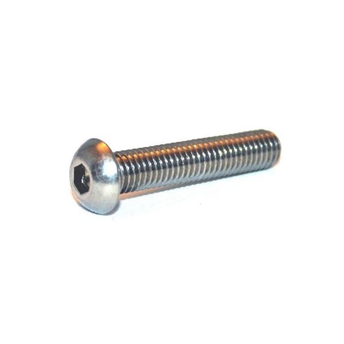 Linsenschrauben mit Flansch - Stahl verzinkt ISO 7380 - M3x6 - 10 Stück