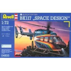 Kit Hélico Eurocopter BK117 avec colle et peinture
