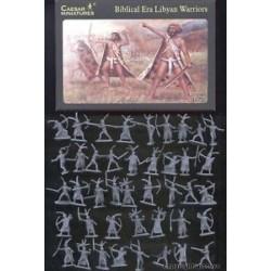 42 figures au 1:72 guerriers Libyens ère Biblique