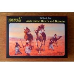 39 figures au 1:72 Cavaliers arabes et bédouins