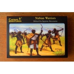 43 figures au 1:72 Nubian Warriors