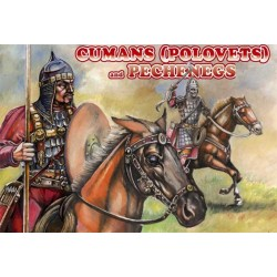 12 figurines au 1:72 CUMANS (POLOVETS) and PECHENEGS