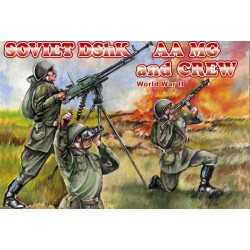 15 figurines au 1:72 SOVIET DShK AAMG and CREW
