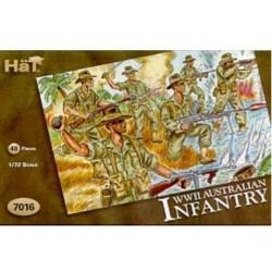 48 pièces au 1:72 AUSTRALIAN INFANTRY WW II