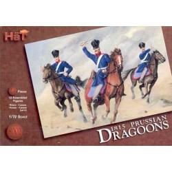 24 pièces au 1:72 PRUSSIAN DRAGONS 1815