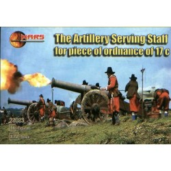 56 figures The Artillery Staff For pce of ordnance 17C
