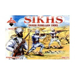 48 figures au 1:72 SIKS Boxer Rebellion 1900