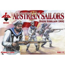 48 figures au 1:72 Austrian Sailors