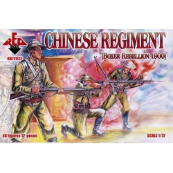 48 figures au 1:72 Chinese Regiment Boxer Rebellion 1900