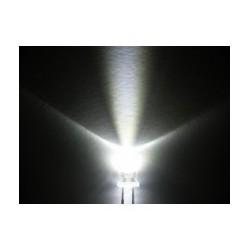 LED Blanche 5mm par 2 pièces