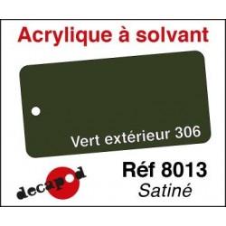 595-8013 Acryl Solvant Vert exterieur 306