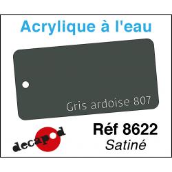 Acryl eau Gris ardoise 807