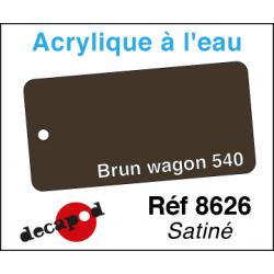 Acryl eau Brun wagon 540