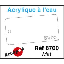 Acryl eau Blanc Mat