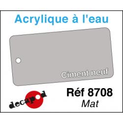 Acryl eau Mat Ciment neuf