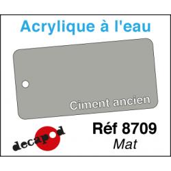 Acryl eau Mat Ciment ancien