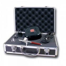 Koffer Airbrush und Kompressor Prince August