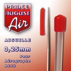 Aiguille de 0,25 mm pour Aérographe A112
