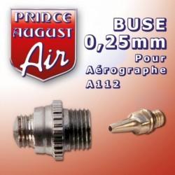 Buse de 0,25 mm pour Aérographe A112