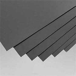 Plaques de styrène NOIRE format 200x530 mm épaisseur 0,5 mm
