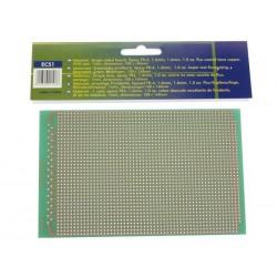 Plaque d'époxy à pastilles perforées 100x160 mm FR4