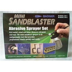 Coffret de sablage BADGER