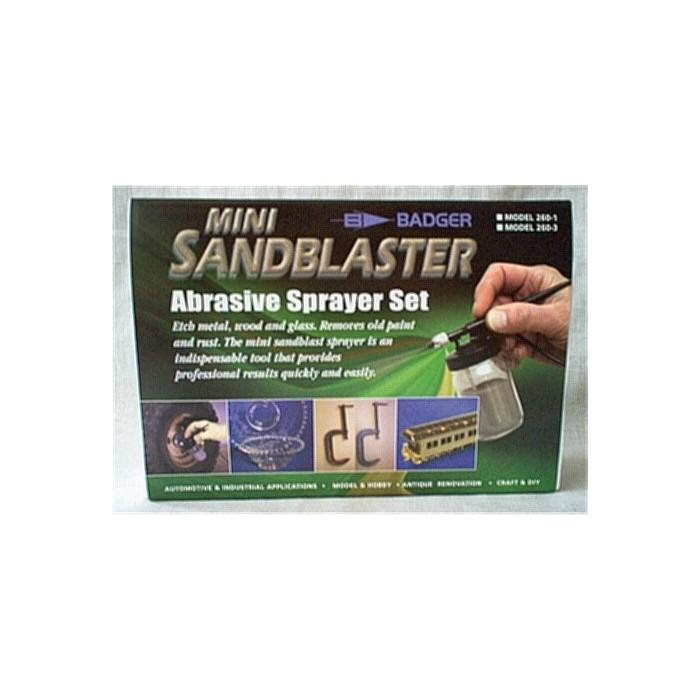 330g d'oxyde d'aluminium pour la sableuse Badger