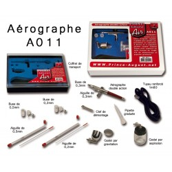 Coffret aérographe double action Prince August