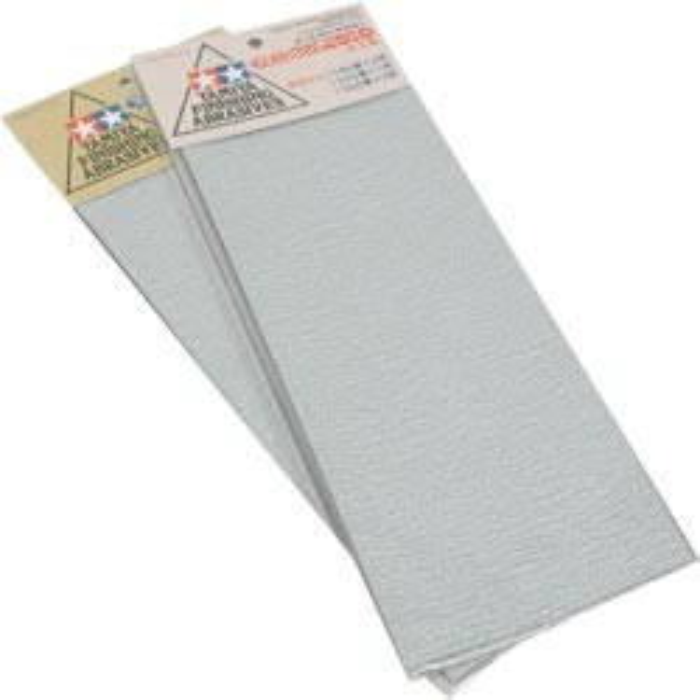 Set de papiers abrasifs / Grain fin : 400-600-1000