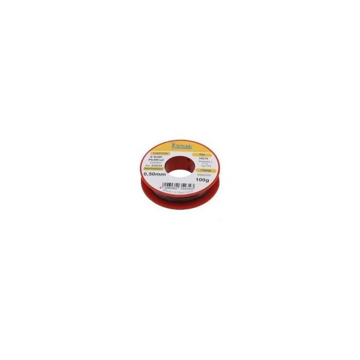 Soudure 100g électronique diamètre 0,5mm