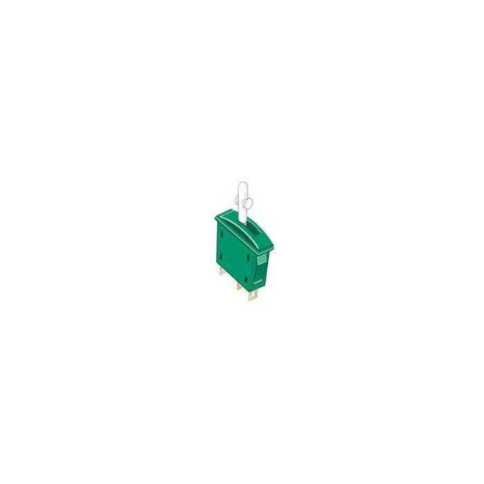 Interrupteur Inverseur Marche / Marche vert