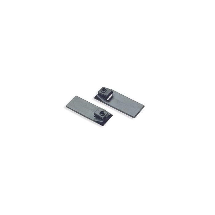 Fixations pour rails asymétriques. Environ 100 pièces