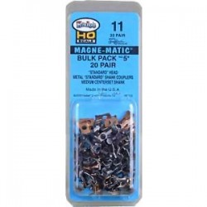 5 Bulk Pack / 20 paires de Kadee 05 sans les boitiers plastique