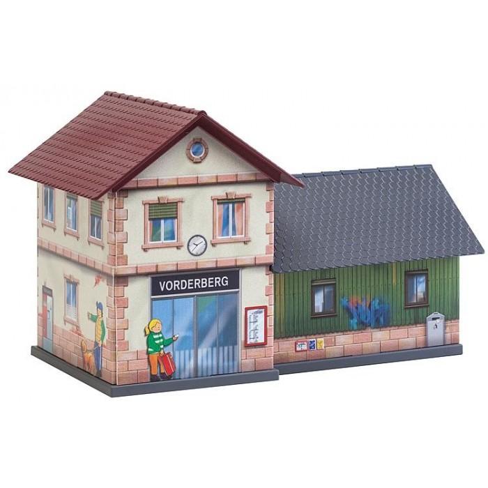 """Kit décor """"Gare"""" à assembler pour enfants"""