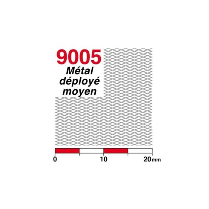 Streckmetall mittel (Messing)