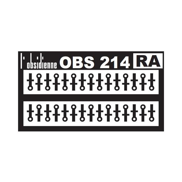 Supports de rambardes 30 pièces