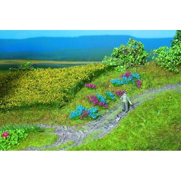 Touffes fleurs de champs, 104 pièces