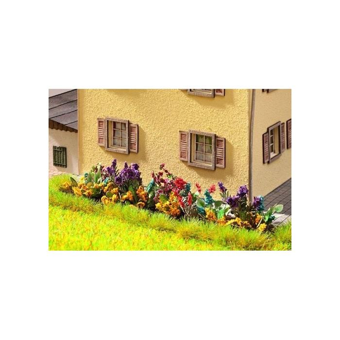 HO / Laser-Cut minis jardin fleuri