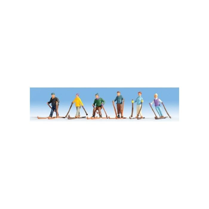 HO / 6 Skieurs