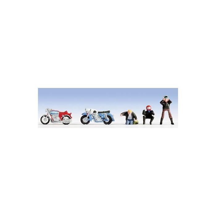 N / Motos et Motocyclistes