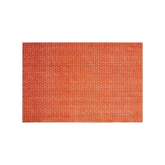 H0 / 3D Mur briques rouges