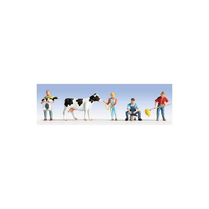 H0 / Etable à vaches