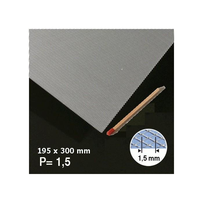 Métal déployé aluminium 1,5mm