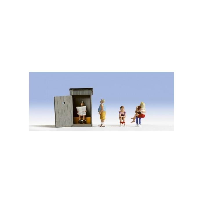H0 / Scènes aux toilettes